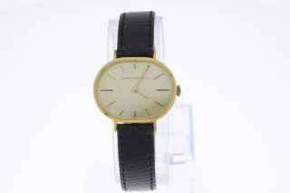Girard Perregaus 18 Karat Gold Vintage Armbanduhr Old Stock Bild