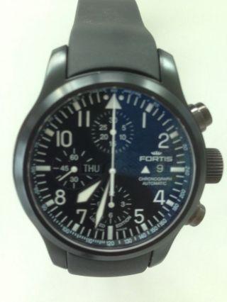 Fortis B - 42 Flieger Black Chronograph Bild