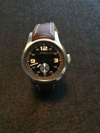 Breil :: Herren Armbanduhr Dw0214 Mit Lederarmband In Braun Bild