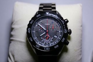 Timex Sl Series Classic Chronograph Herrenuhr Armbanduhr Uhr T2n590 Bild