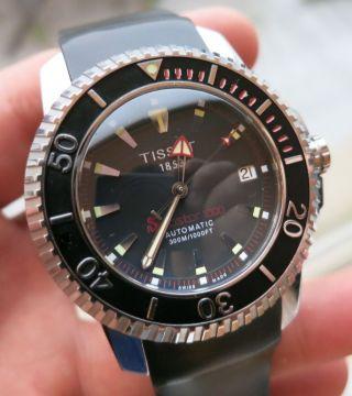 Tissot Seastar 1000 Automatic Date Armbanduhr (wunderschöne Taucheruhr) Bild