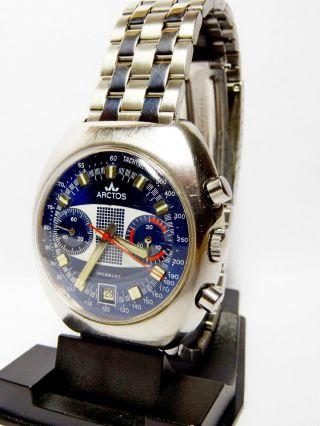 Arctos Racing Chronograph - Cal 7734 - Handaufzug Topzustand Selten Bild