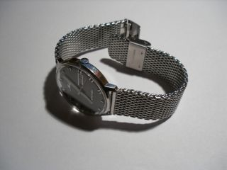 Mido Commander Ocean Star Datoday 8419 Automatic Herren Uhr / Milanaise Armband Bild