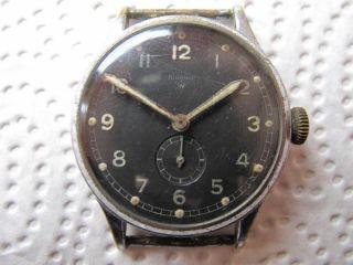 Vintage Wagner Dienstuhr Mit Urofa 581,  Militär,  Luftwaffe Bild