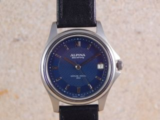 Alpina A25l 1301 Bl Herrenarmbanduhr Bild
