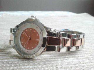 Yves Rocher Uhr Damen Glamour Rosegold/silber/glitzersteine Schmuckuhr - - Bild
