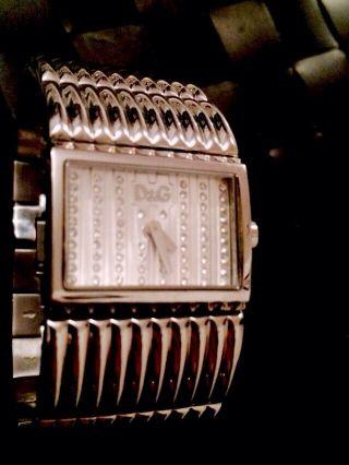 Dolce & Gabbana Uhr Strass Edelstahl Damen Uhr D&g Bild