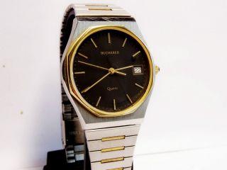 Bucherer Herren Armbanduhr Stahl - Gold Bild