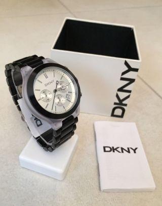 Dkny Donna Karan Ny8264 Damen - Uhr / Chronograph Schwarz Bild