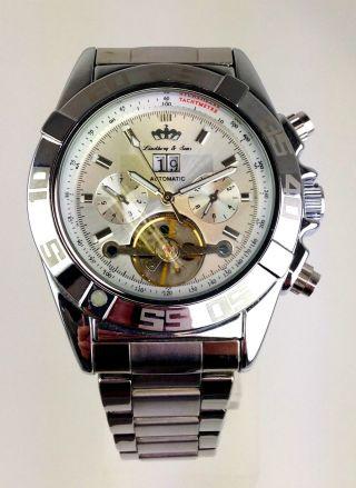 Armbanduhr Marke Lindberg & Sons - Viele Funktionen - Automatik - Modell Volos Bild