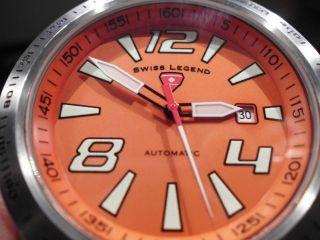 Swiss Made Legend Automatic Diver Racer - 539€ Uhr Mit Sinn Design Ist Steinhart Bild
