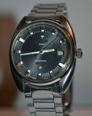 Tissot Seastar Automatik Herrenuhr - Herren Armbanduhr Automatic Watch Vintage Bild