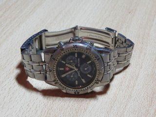 Swiss Militaire Chronograph Herren Armbanduhr Bild