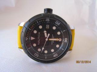 Nautica Armbanduhr Nmx 601 Black And Yellow A16634g Bild