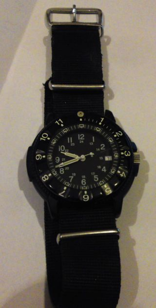 Traser H3 P6500.  400.  33.  01 Military P 6500 Swiss Made Nato Tritium Dauerleuchtend Bild