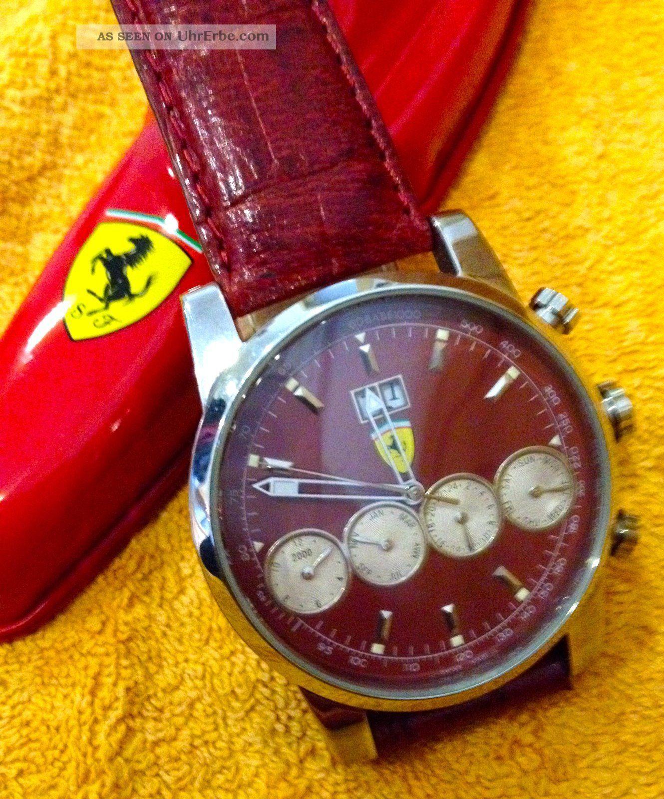 Ferrari,  Herrenuhr,  Sammleruhr,  Automatik Armbanduhren Bild