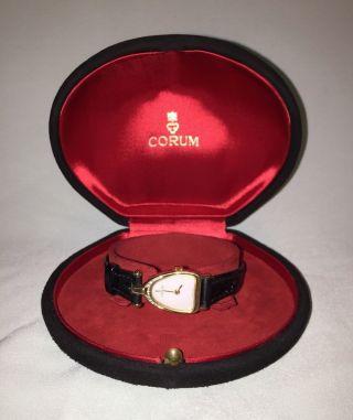 Traumhafte - Corum - 18 Karat - Diamanten - Perlmut Damenuhr - Rarität Bild