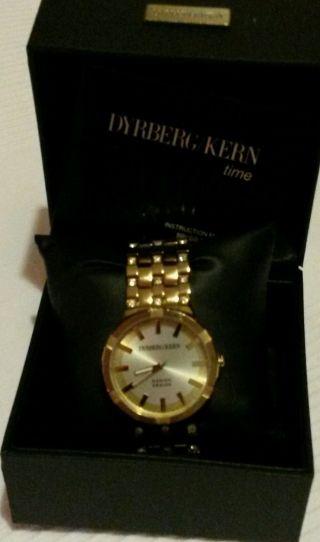Dyrberg/kern Armbanduhr Für Damen Gold Top Bild