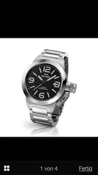 Tw Steel Mit Box Uhrenbox Geschenk Tw 300 Schicke Herrenuhr Np 299€ Bild