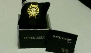 Dyrberg/kern Armbanduhr Für Damen Messing Bild