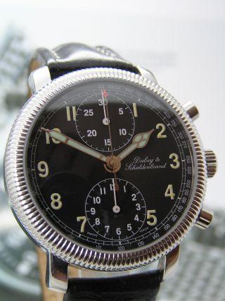 Klassischer Dubey & Schaldenbrand Automatik Herrenchronograph - Valjoux 7750 Bild