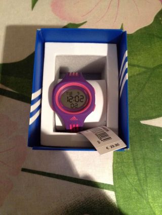 Adidas Kinderuhr,  Uhr,  Lila,  Ovp Bild