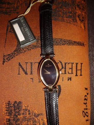 Schöne Michel Herbelin Paris Uhr Damenuhr 18 Karat Gold Auflage Hoher Np Bild