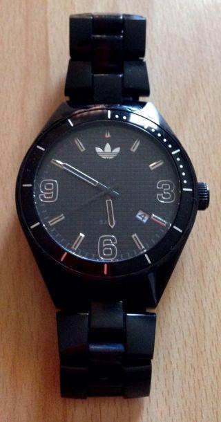 Adidas Damenuhr Herrenuhr Cambridge Adh2507 Kunststoff Schwarz Bild