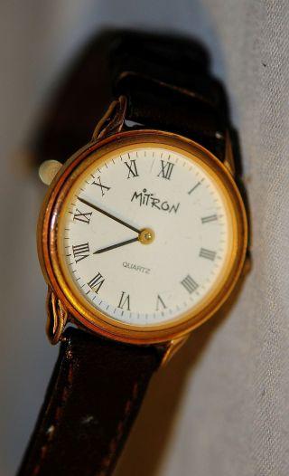 Armbanduhr Mitron Quarz Uhr 19211 Bild