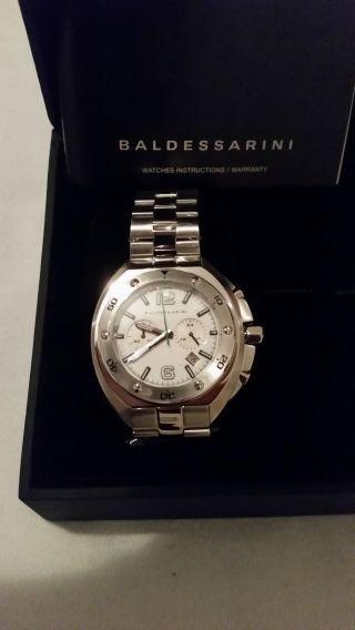 Baldessarini Herren - Armbanduhr Mow Chronograph Quarz Edelstahl Analog Bild