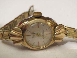 Isoma Antik Damenuhr Handaufzug 50er Jahre Sammlerstück Weihnachten Traumschön Bild
