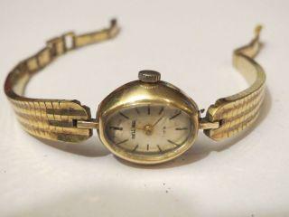Bellana Antik Damenuhr Handaufzug 50er Jahre Sammlerstück Weihnachten Bildschön Bild
