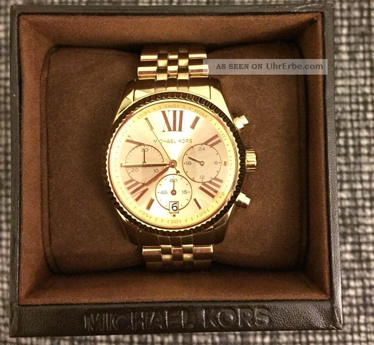 Michael Kors Mk5556 Armbanduhr Uhr Chronograph Modell
