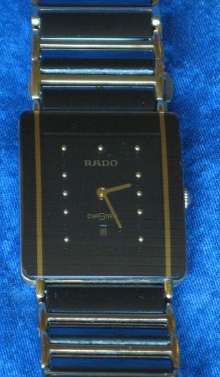 Rado Diastar Integral Herrenarmbanduhr Großes Modell Bild
