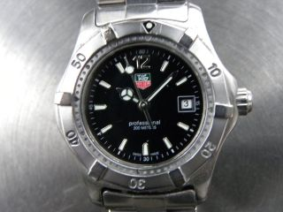 Tag Heuer Professional 200 Meters Swiss Made Bild