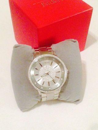 Christ Times Damen Uhr Silber Mit Steinchen/ Glitzer - 2 Jahre - Bild