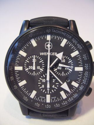 Wenger Herrenuhr Commando Chrono Bild