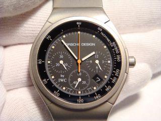 Iwc Chronograph Titan Porsche Design Bild