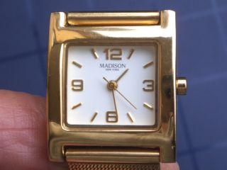 Schöne Madison York Armbanduhr Gut Erhalten Wie Läuft Gut. Bild