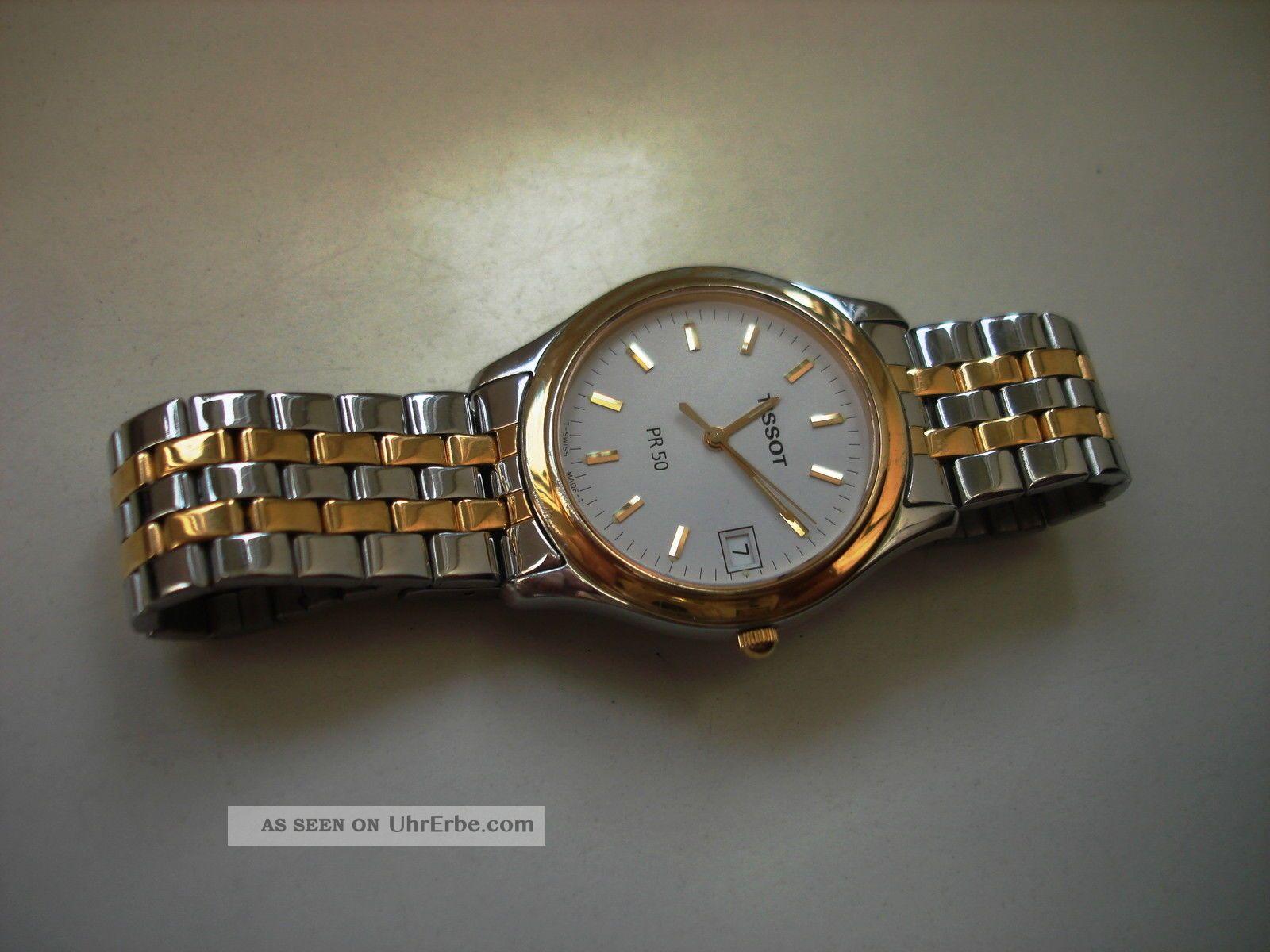 Herren Damen Aufgearbeitet Tissot 50 Basic Pr Uhr Armband Neues ZPkuTXOi