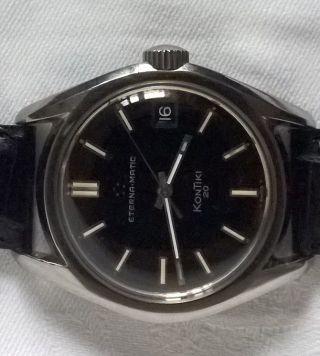 Eterna Matic Eternamatic Kontiki 20 Armbanduhr Uhr Bild