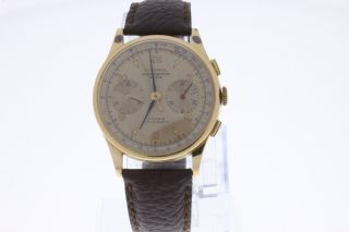 Carrol Chronographe Suisse 18k Gold Chronograph Bild