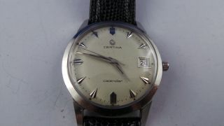 Certina Calendar Armbanduhr,  Mit Datum,  Handaufzug Bild
