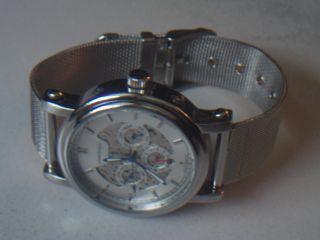 Herren Automatik Uhr / Weinberger,  Mit Tag / Monat Anzeige / Glassboden 3atm Bild