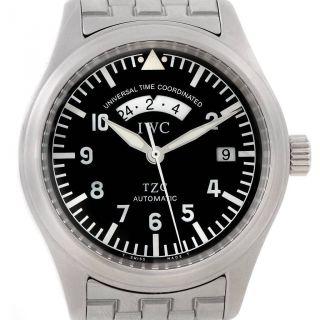 Iwc Utc Fliegeruhr Automatic Herren Armbanduhr Weihnachtsgeschenk Iw325102 Bild