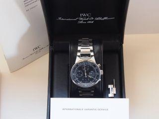 Iwc Gst Chronograph Armbanduhr Für Herren (iw370707) Bild