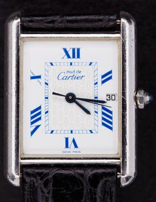 Cartier The Tank Bild