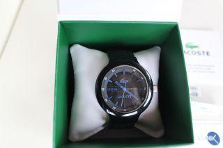 Lacoste Herren Armbanduhr (5.  518.  011) D= Ca.  45mm,  Farbe Blau,  Silikon Armband Bild