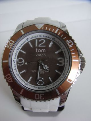 Tomwatch Basic White 44 Wa 00108 Brown Uvp 49,  90€ Bild