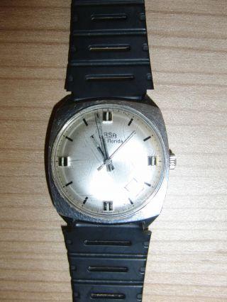 Arsa Herren - Armbanduhr - Mechanischer Handaufzug - Mit Datumsanzeige - Analog Bild